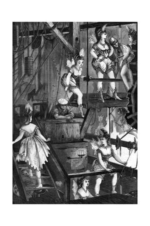 Pantomime Fairies in the Flies