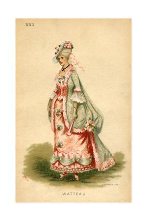 Watteau Fancy Dress Costume