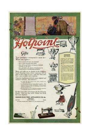 Advertisement for Hotpoint Gifts for Christmas
