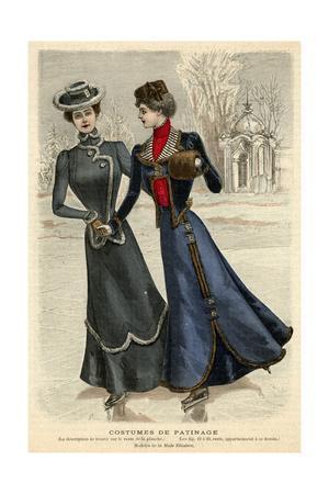 Skating Fashions 1899