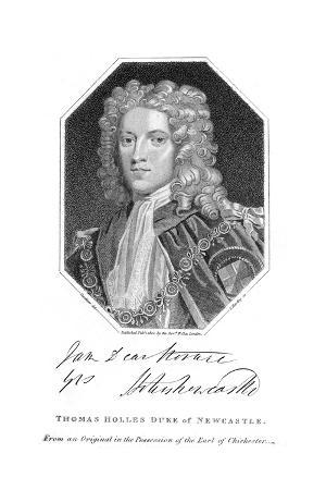 Thomas Duke Newcastle
