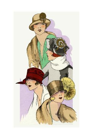 Selection of Autumn Hats Designed by Georgette and Cie