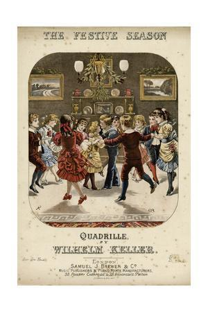 The Festive Season -- Children Dancing at a Party