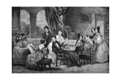 Music at Home, 1820