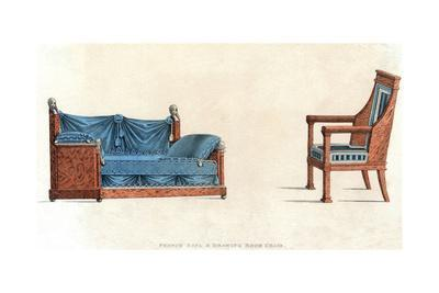 French Settee and Chair