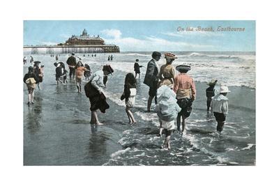 Paddling Eastbourne