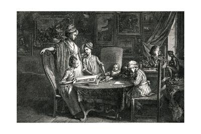 Dn Chodowiecki, Family