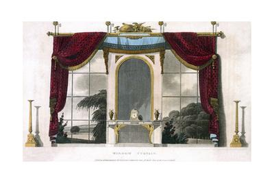 Window Curtain 1800