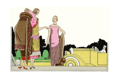 Three Outfits by Lucien Lelong and Philippe Et Gaston