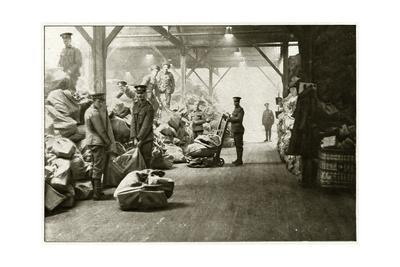 Departure of Mail to British Soldiers