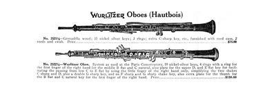 Oboe, Wurlitzer