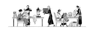 Scenes in a Dress Shop