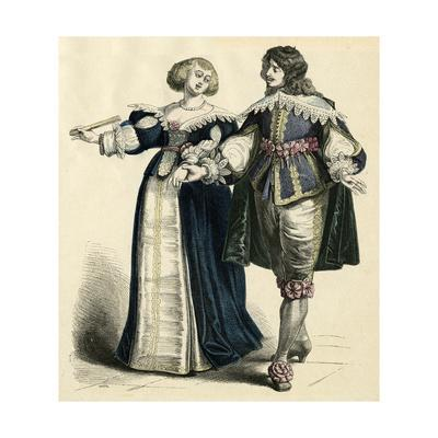 French Couple 1650