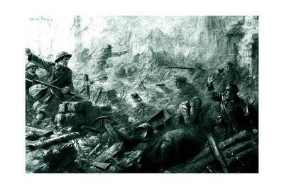 WW1 - Western Front - Attack on the Hindenburg Line, 1917