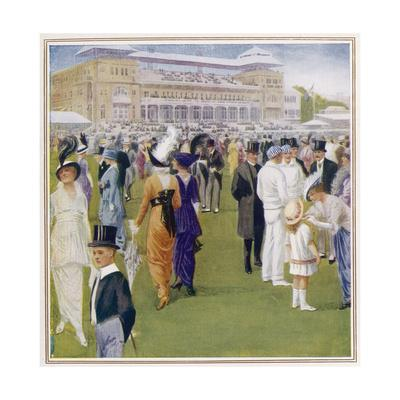 1914 Fashions at Lords