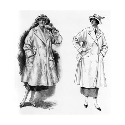 Womens Overcoats 1922