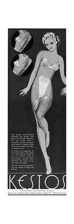 Advert for Kestos 1936