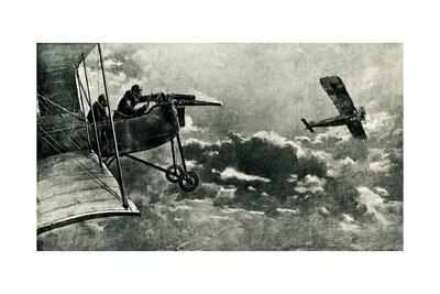 WW1 - French and German Aerial Battle, 1916