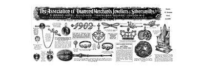 Coronation Jewellery Advertisement, 1902