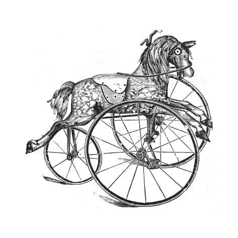 Dunkleys Toy Horse Giclee Print At Allposters Com