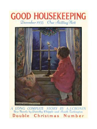 Good Housekeeping Front Cover, December 1933