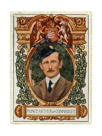Prince Arthur of Connaught, Stamp
