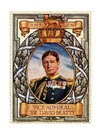 Vice Admiral David Beatty, Stamp
