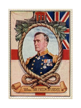 Vice Admiral Sturdee, Stamp