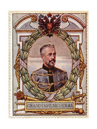 Grand Duke Nicholas, Stamp