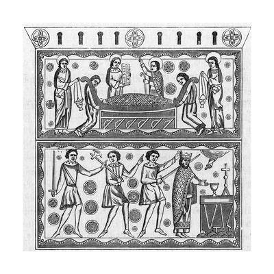 Ethelbert of East Anglia Beheaded