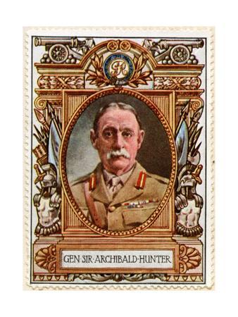 Gen Sir Archibald Hunter, Stamp