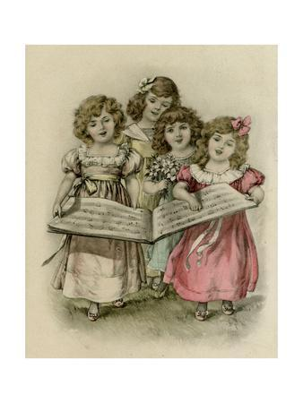 Four Girls Sing
