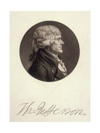 Thomas Jefferson, Memin