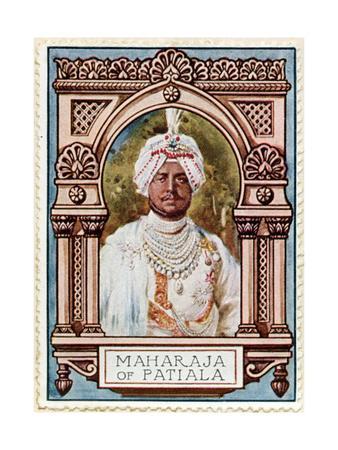 Maharaja of Patiala, Stamp