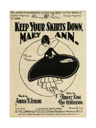 Billowing Skirt 1925