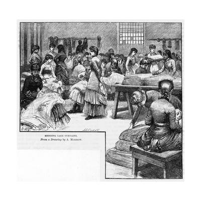 Industry, Textiles, Lace