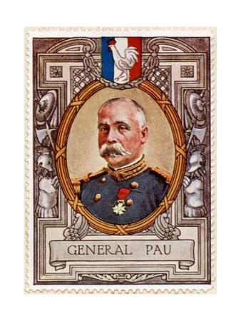 General Pau, Stamp