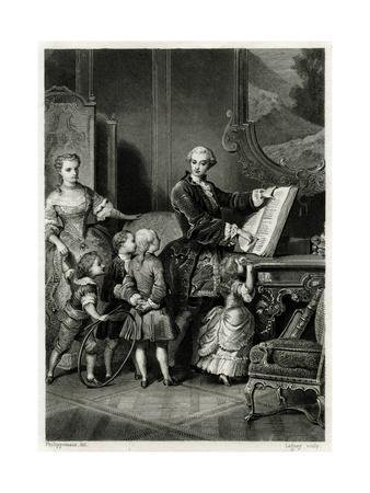 Louis Dauphin and Family