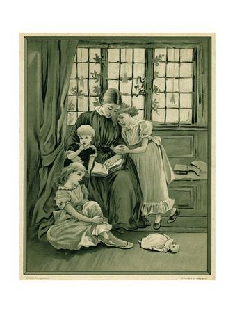 Mother and Children C1875