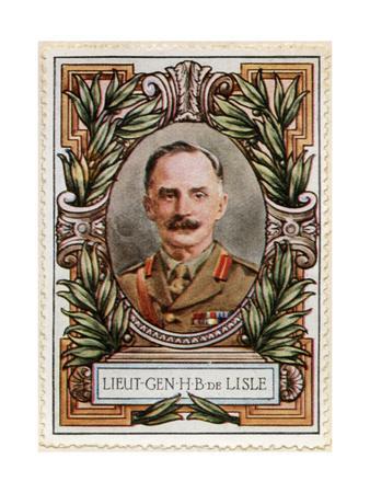 General Sir Henry de Beauvoir de Lisle, Stamp