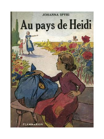 Books, Spyri, Heidi