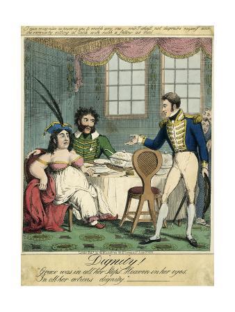 Caroline and Bergami, 1819