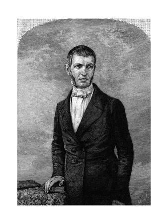 George Bancroft as a Young Man