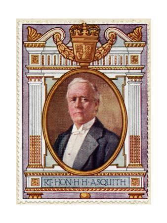 Herbert Henry Asquith, Stamp