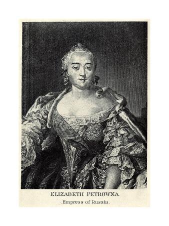 Elizabeth Petrovna - Empress of Russia