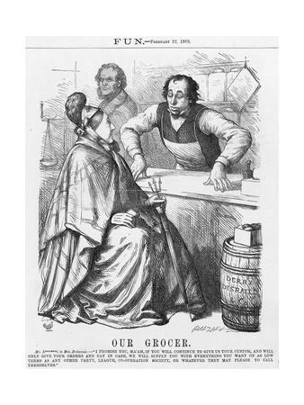 Disraeli, Grocer, Shop