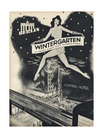 German Music Hall Advert