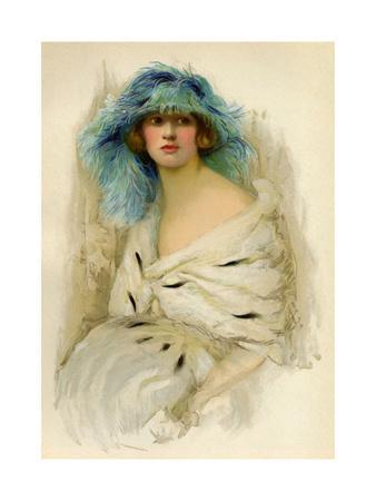Portrait of a Woman Showing 1920S Fashion