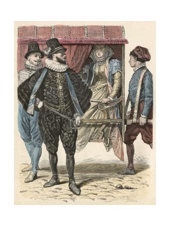 Neapolitan Men, Lady