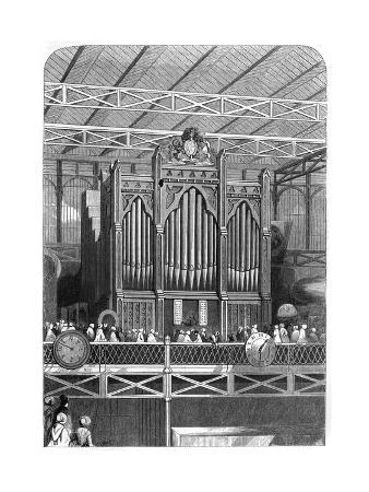 Henry Willis Grand Organ at the Great Exhibition, 1851